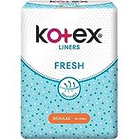 Kotex Fresh Regular Unscented Feminine Care Liners, 40ct