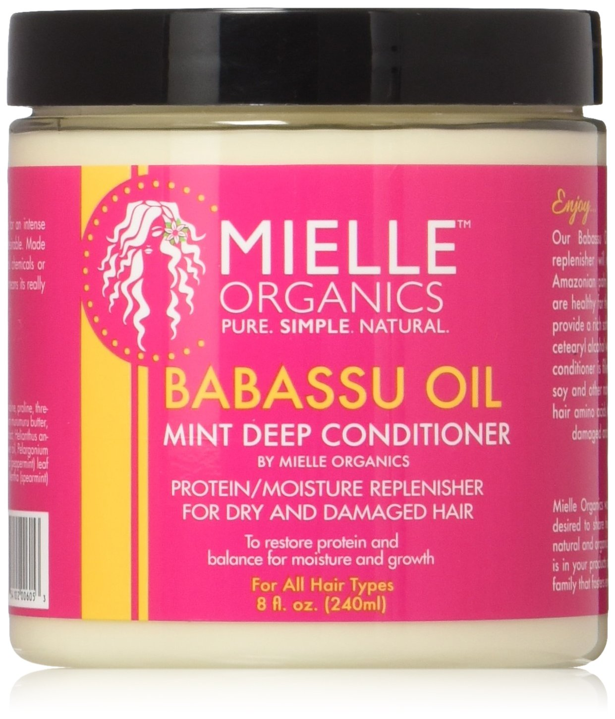 Babassu Oil And Mint Deep Conditioner