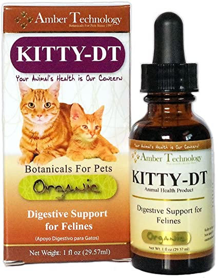 Kitty-DT (1oz) - Digestive Support for Felines
