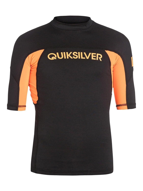 日本人気超絶の QuiksilverユースBoys実行者半袖ラッシュガードスーツ Black/Orange B00NHA7QHA Small|Black/Orange Pop Black/Orange Pop B00NHA7QHA Pop Small, ミナミツルグン:e5c8ca61 --- beyonddefeat.com
