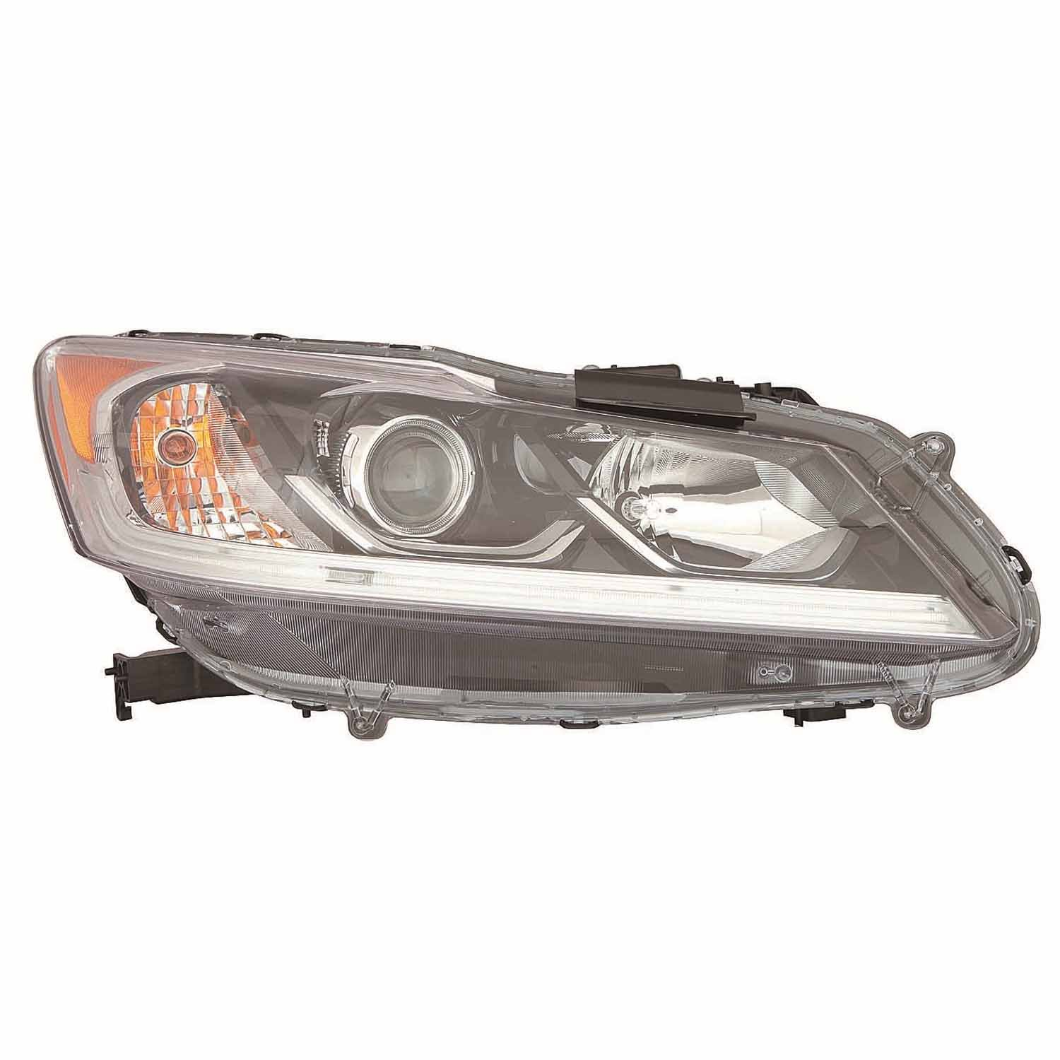 Partslink Number HO2503168 OE Replacement Headlight Assembly HONDA ACCORD SEDAN Multiple Manufacturers HO2503168R