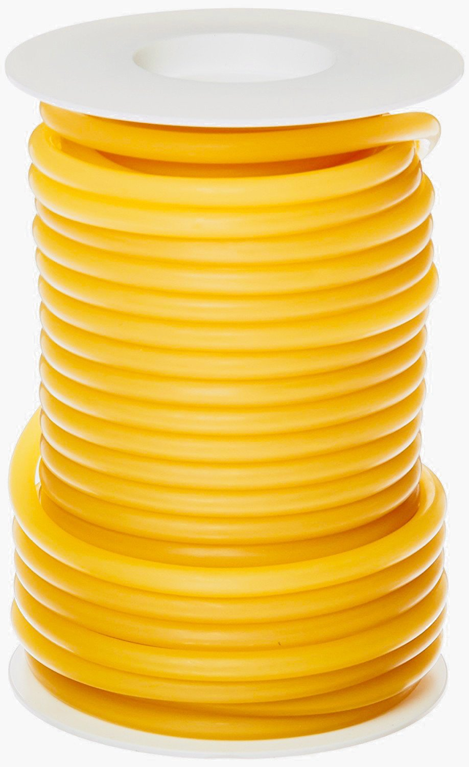 Pivit Flexible Seamless Natural Latex Rubber Band Tubing | 1/4'' ID, 5/16'' OD, 1/32'' Wall Thickness | 50ft One Continuous Length | Extreme Flexibility, Durability & Elastic Stretch Memory | Made in USA by pivit