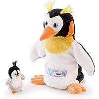 Trudi - Marioneta de Peluche pingüino con bebé (29997)