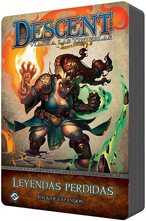 Fantasy Flight Games- Descent - Leyendas perdidas, Color (UDJ45ES): Amazon.es: Juguetes y juegos