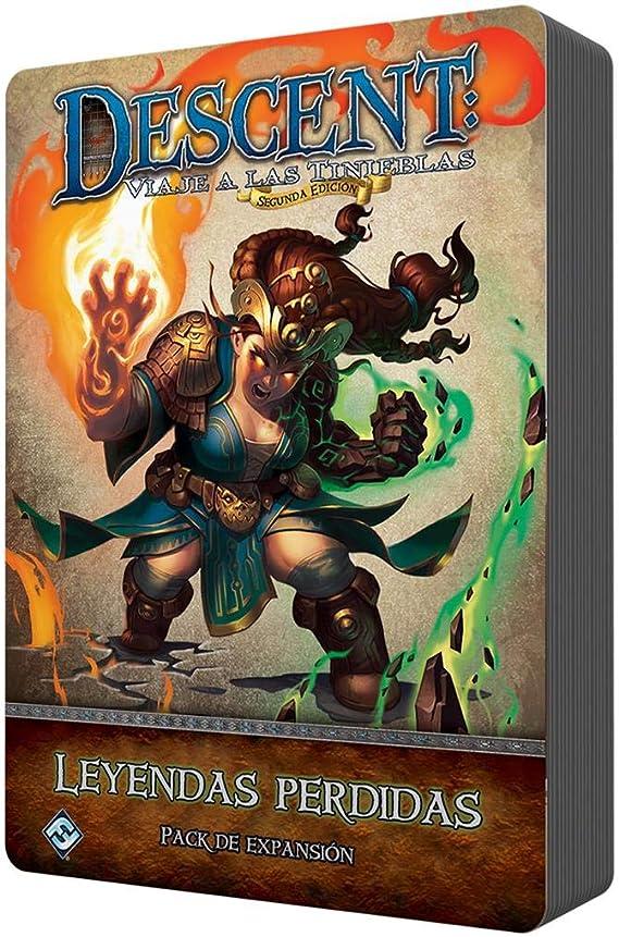 Fantasy Flight Games- Descent - Leyendas perdidas, Color (UDJ45ES): Amazon.es: Juguetes y juegos