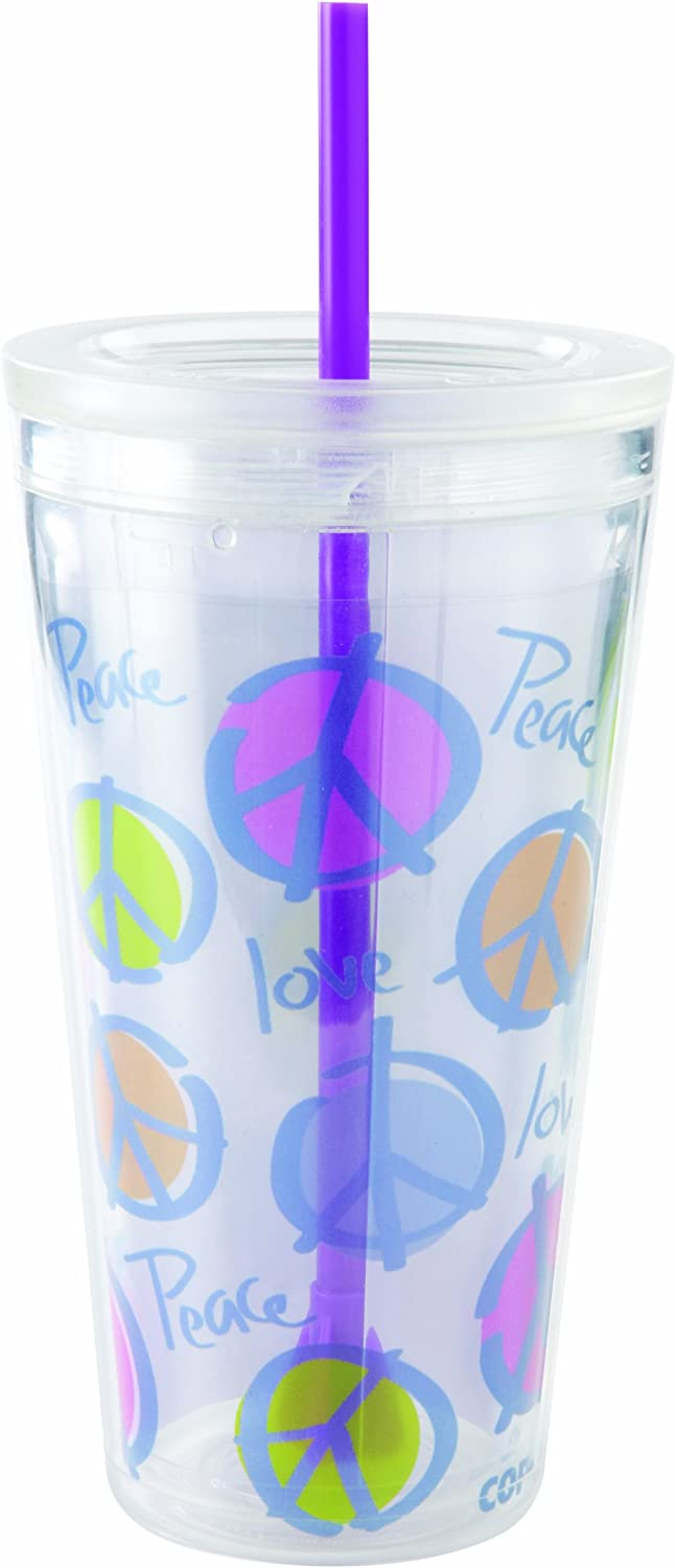 Design-5 Silver The Fanatic Group Arizona State Double Walled Soft Touch Tumbler