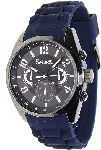 Select Te-10 Reloj Analogico para Hombre Caja De Metal Esfera ...