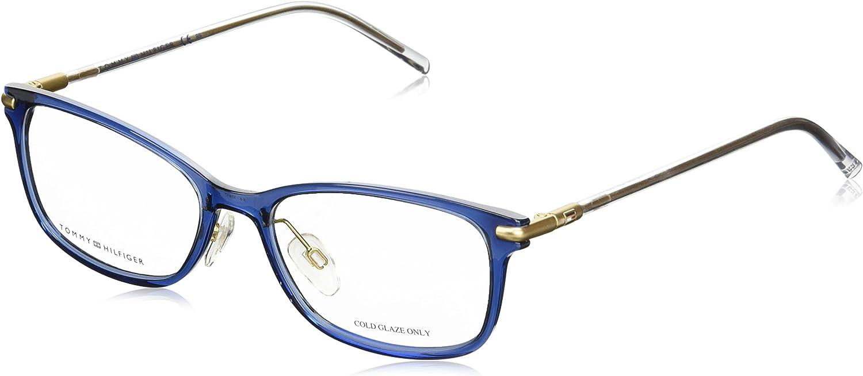 Black print Tommy Hilfiger frame TH-1530 PJP Acetate Transparent Blue