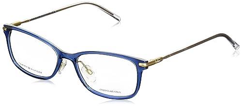 Tommy Hilfiger - TH 1400, Rechteckig, njektion/propionate, Damenbrillen, BLUE CRYSTAL(R21), 53/17/14...