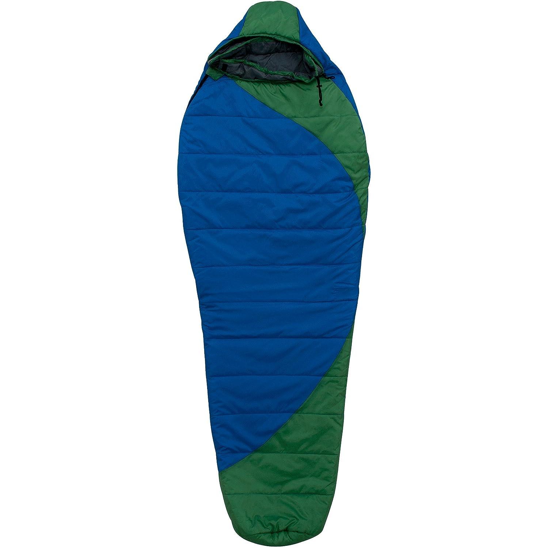 Ozark Trail doble saco de dormir bolsa, para 2 personas, azul/verde: Amazon.es: Hogar
