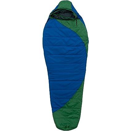 Ozark Trail doble saco de dormir bolsa, para 2 personas, azul/verde