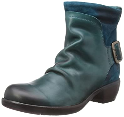 Fly London Mel Rug/Oil Suede Women's Boots