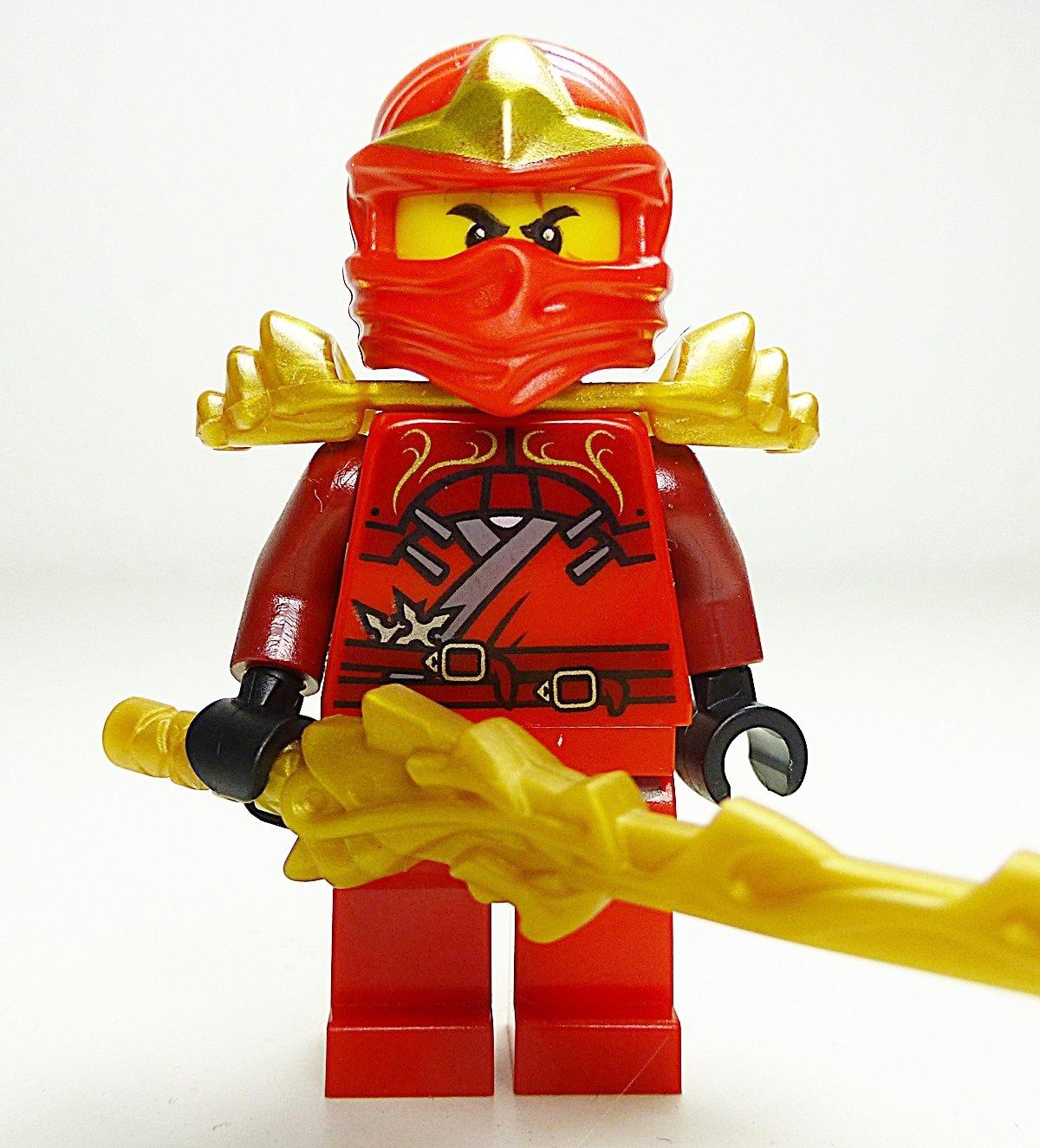 Lego ninjago kai zx with armor and dragon sword ebay - Ninjago lego kai ...
