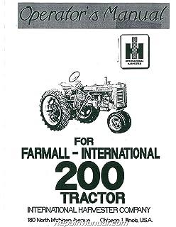 ih farmall super a tractor special attachments manual ih download