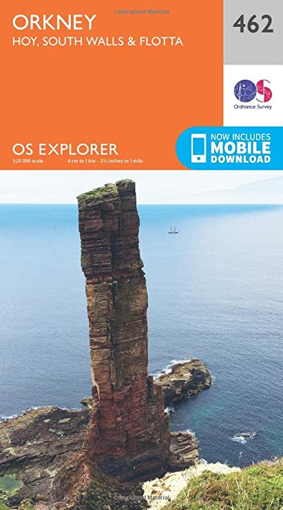 Amazon.com: Orkney - Hoy, South Walls and Flotta (OS Explorer Active ...