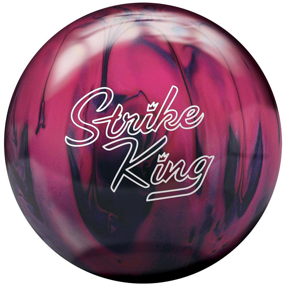 Brunswick STRIKE KING Bowlingkugel, Herren Purple/Pink Pearl 5 9 kg BR147 13