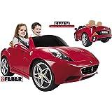 Feber Ferrari California 12V Ride-On Car - 800006338 Red