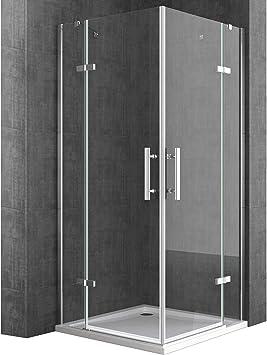TBH: 100 x 80 x 195 cm Diseño de mampara de ducha Ravenna30 ...