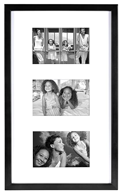 Amazon.com: MCS 10x17 Inch East Village Collage Frame with 3-4x6 ...