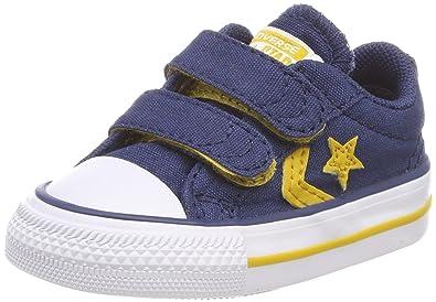 55d843a5347 Converse Unisex Kids  Star Player Ev 2v Ox Fitness Shoes  Amazon.co ...