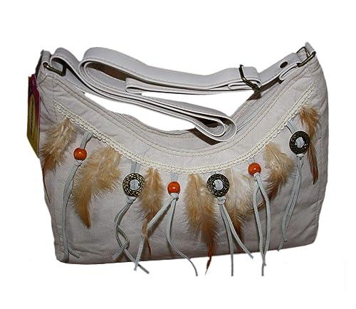 Graceland Tinasfunshop Moderne Damen Schulter Tasche Echte