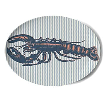 Thomas Paul Melamine Vineyard Lobster Tray  sc 1 st  Amazon.com & Amazon.com | Thomas Paul Melamine Vineyard Lobster Tray: Serving Trays
