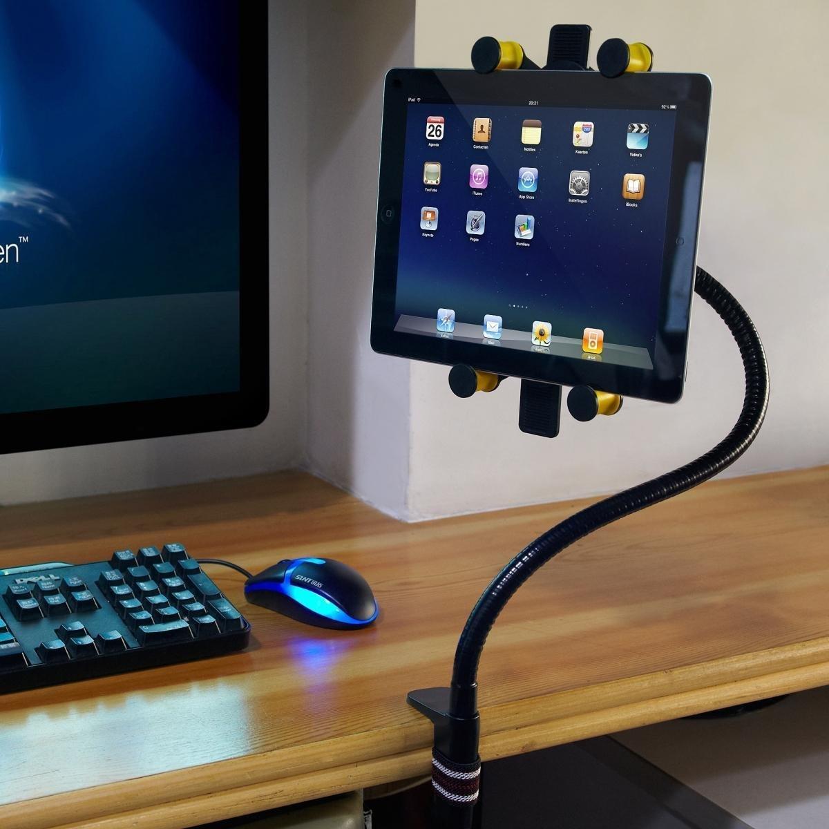 Iclever supporto stand da letto / collo oca porta tablet pc da ...