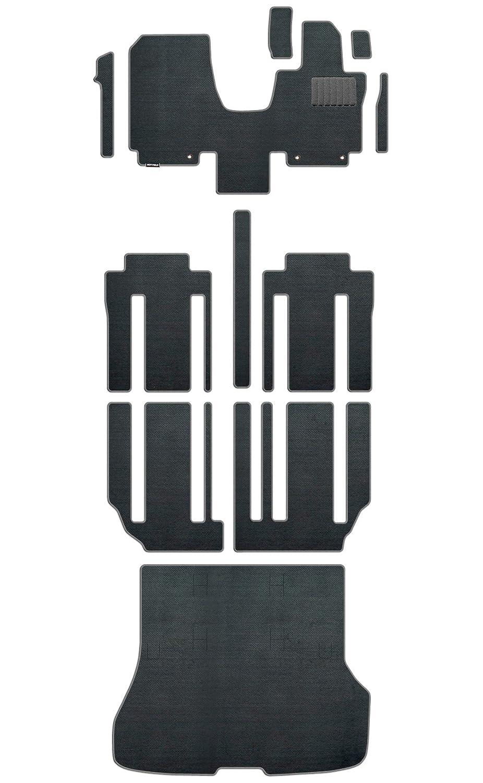 Hotfield 日産 セレナ C27系 (ガソリン車) フロアマット+ラゲッジマット 重厚Profound プロフォンドグレー 【A:フロント一体:パーツ分割/超ロングスライド仕様】 B07311X4Z8 【A:フロント一体:パーツ分割 / 超ロングスライド仕様】|プロフォンドグレー プロフォンドグレー 【A:フロント一体:パーツ分割 / 超ロングスライド仕様】