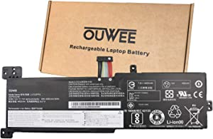 OUWEE L17L2PF0 Laptop Battery Compatible with Lenovo ideapad 330 Touch-15ARR 330-15ARR 330-15ICN Series L17D2PF1 L17L2PF2 5B10Q62138 L17M2PF2 5B10Q62139 L17M2PF0 5B10Q41211 L17M2PF1 7.6V 35Wh 4610mAh