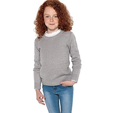 08c03ef6eb4e La Redoute Collections Big Girls Jumper Sweater with Pretty Back Detail