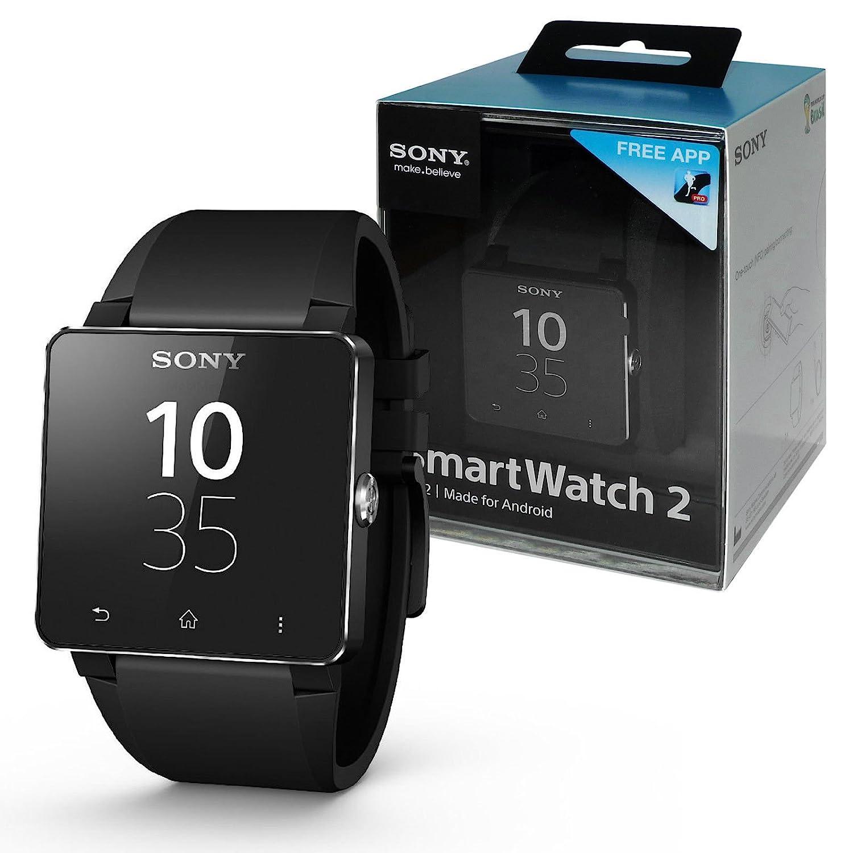 Amazon.com: Sony SW2 SmartWatch 2 NFC Bluetooth IP57 Splash ...