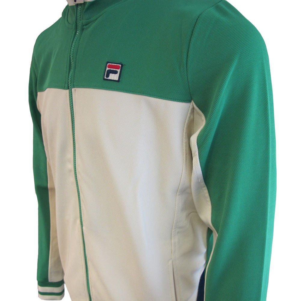78c0ebb84fd Fila Vintage Men's Tiebreaker Track Jacket, Blue at Amazon Men's Clothing  store: