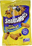 3 Pack - Snausages In a Blanket Beef & Cheese Flavor Dog Treats / Snack , 4.5 - Oz bag