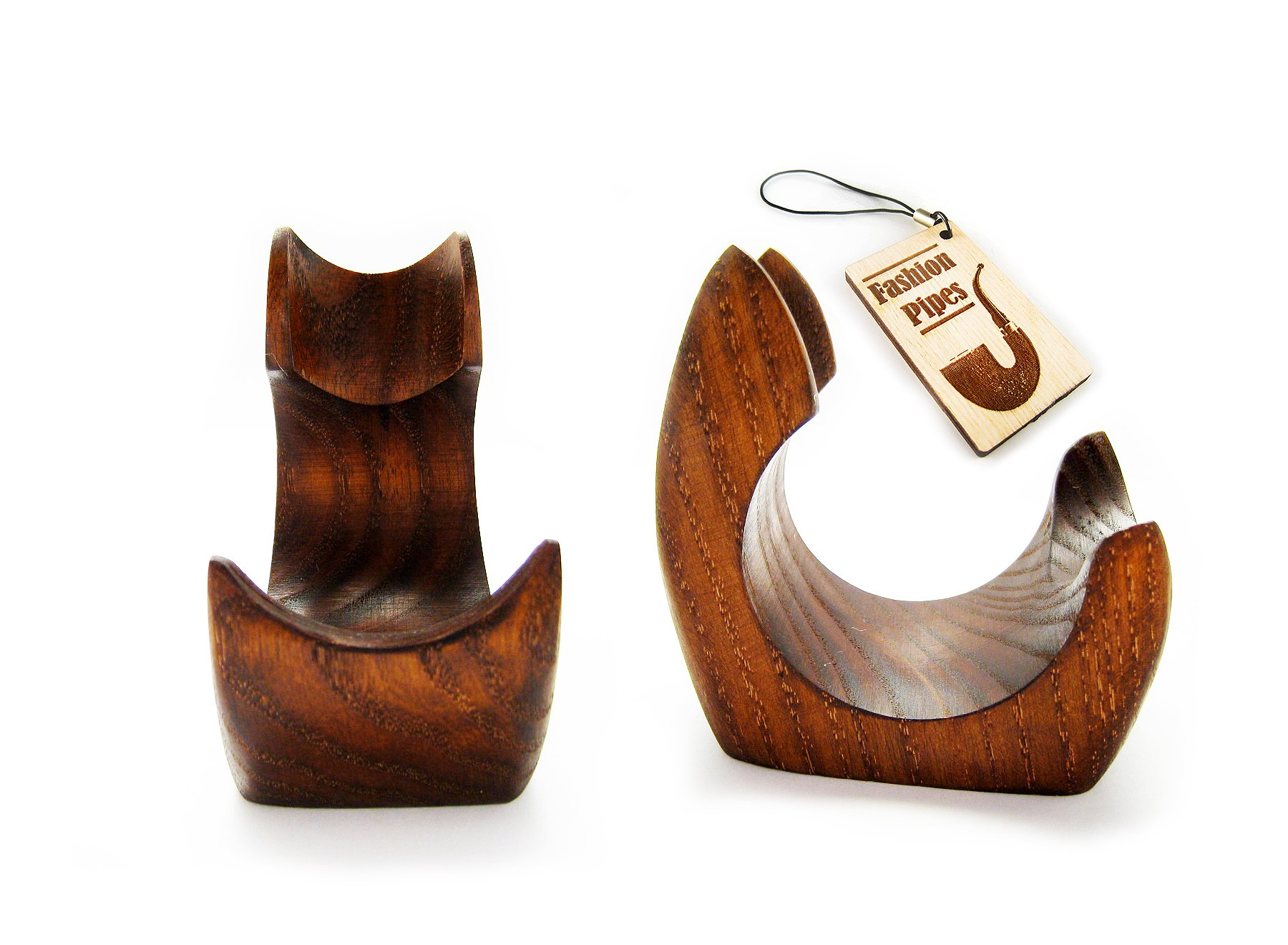 New Wooden Pipe Stand Rack Holder for Tobacco Pipe - Smoking Pipe. Handcrafted (1) by Fashion Pipes