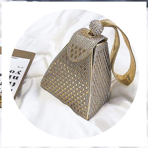 Amazon.com: Bolsas de piel para mujer con diseño triangular ...