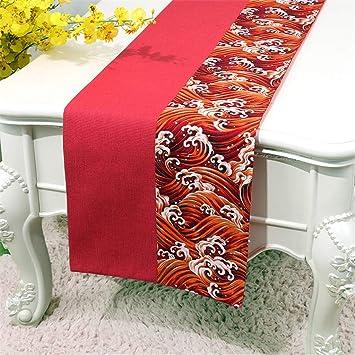 Chemins De Table Table Japonaise Drapeau De Table Broderie A