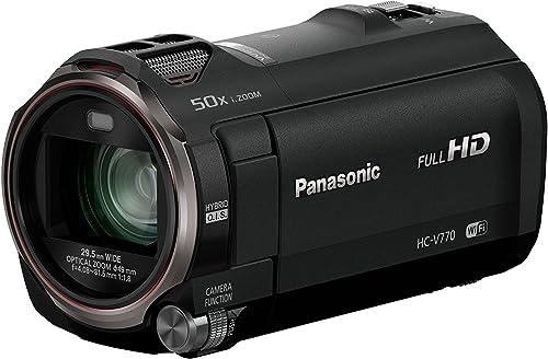 Panasonic HC V770 Camcorder best video cameras under $1000