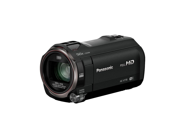Panasonic Hc V770 Full Hd Camcorder With 20x Optical V385 Kamera Video Electronics