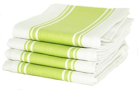 Cucinare Kitchen Tea Towels By 100% Cotton, Professional Grade ...