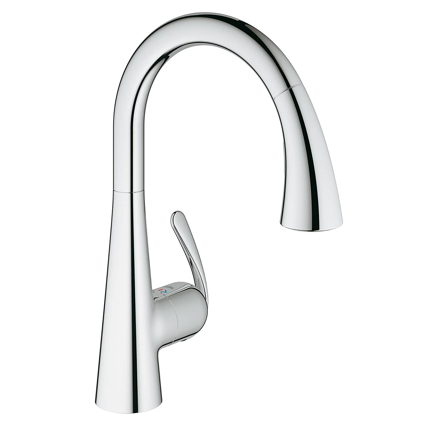 ladylux cafe single handle pull down foot control kitchen faucet ladylux cafe single handle pull down foot control kitchen faucet with dual spray amazon com