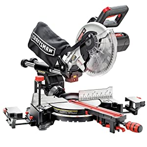 Craftsman 21237 Corded-Electric Single-Bevel Sliding Compound Miter Saw