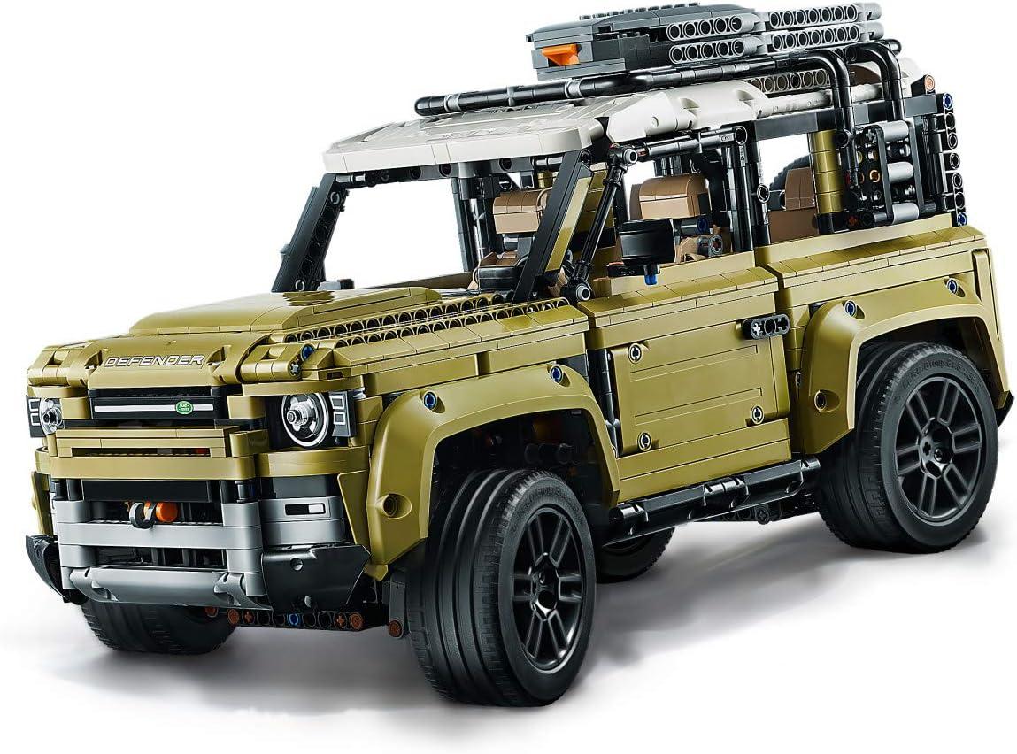 LEGO Technic Land Rover Defender 42110 Building Kit 2573 Pieces