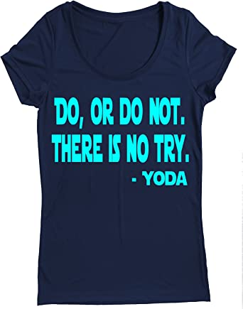 Race Day Performance Dry Sports Shirt – Women Running Short-Sleeves top -DO OR DO NOT. There is NO Try - YODA