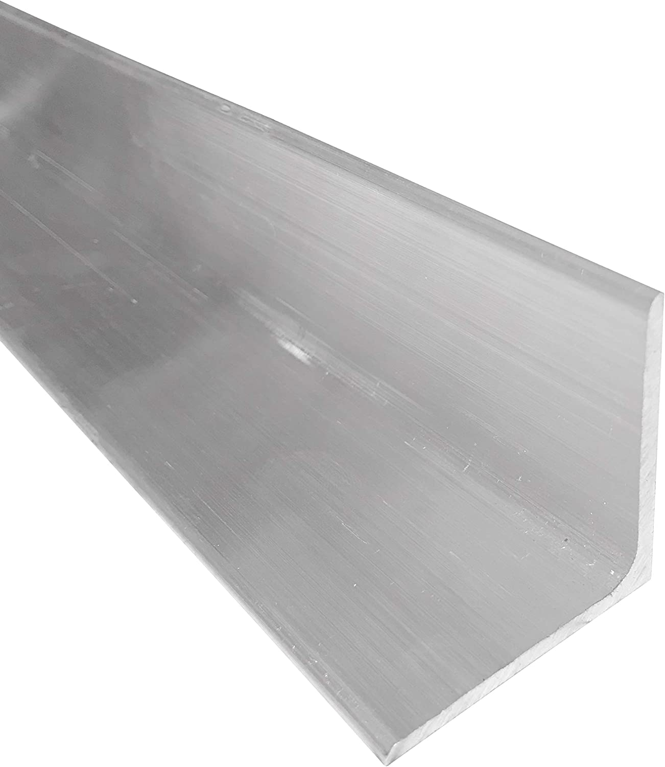 1-1//2 x 1-1//2 Aluminum Angle 6061 T6511 Mill Stock 36 Length 1//4 Thick