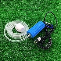 Zehui Whisper Easy to Use Air Pump for Aquariu Portable Mini USB Aquarium Fish Tank Oxygen Air Pump Mute Energy Saving…