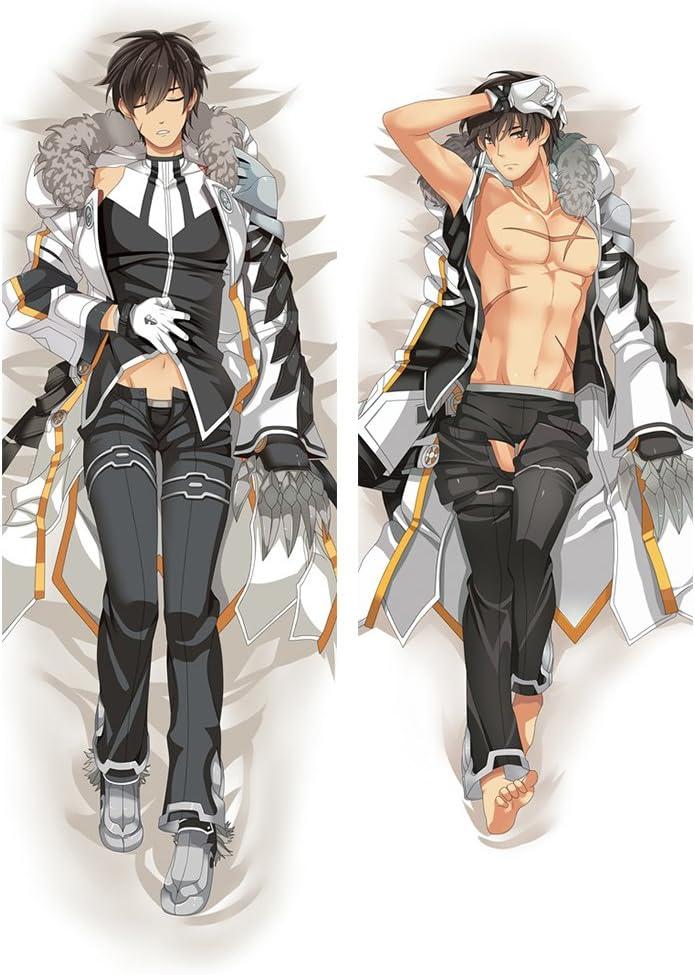 1PC New Elsword Grand Master Anime Dakimakura Hugging Body Pillow Cover