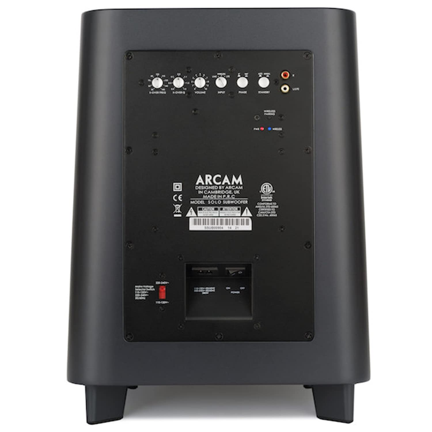 Amazon com: Arcam Solo Subwoofer: Home Audio & Theater