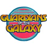"GUARDIANS Of The GALAXY Logo 4"" Wide Embroidered PATCH"