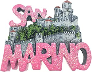 San Marino Fridge Magnet 3D Resin Handmade Craft Tourist Travel City Souvenir Collection Refrigerator Sticker