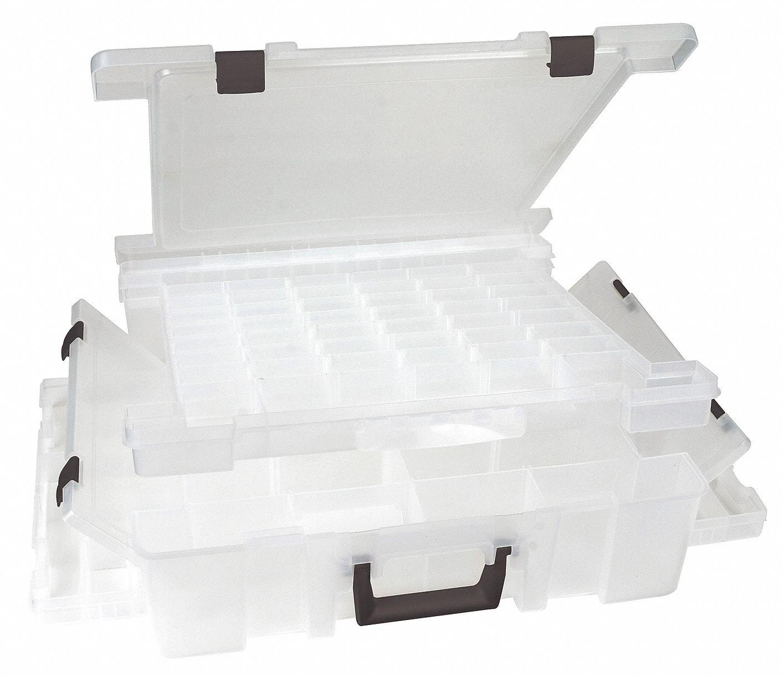 Adjustable Compartment Box, 17-1/4'' W x 16-3/4'' L x 5'' H